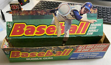 1975 Topps Wax Box 36 Pack Empty Dealer Display 15 Cent Packs