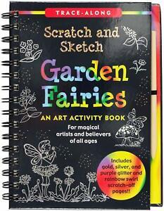 Scratch and Sketch Garden Fairies  - Trace Along Peter Pauper Press