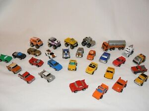 Micro Machines:Vintage Mixed Job Lot including Lone Star oil Tanker Pre-loved