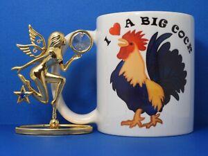 I Love A Big C&$K Funny novelty coffee mug rude naughty