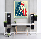 """We The People Equal Rights End Racism American Flag Canvas Print 24"""" x 32"""""""
