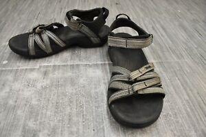 **Teva Tirra Sport 4266 Sandal, Women's Size 8, Black