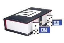 New York Giants Domino 100% Acrylic, Faux Leather Case