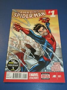 Amazing Spider-man #1 1st Cindy Moon/Silk Cameo NM- Gem Wow