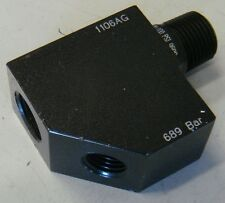 Hydraulic Male Female 45 Gauge Elbow 700 Bar SPX 3/8x1/4npt