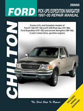 Chilton Repair Manual Ford  1997-03 pickup, 97-14 Expedition/Navigator #26666