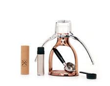 Presso Coffee Maker Espresso Machine Polished ROK Manual Coffee Maker COPPER