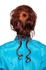 partie de cheveux avec peigne volumineux bouclé baroque marron yzf-3072ht-10