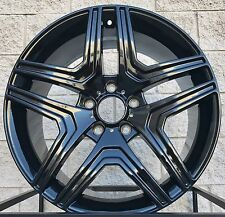"20"" Mercedes Benz Wheels Tires Rims For G Class G500 G550 G55 G63 W463 Black"