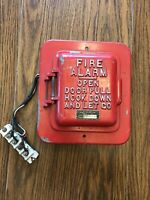 Antique Fire Alarm With Complete Inner Workings