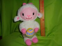Disney DOC MCSTUFFINS rare EASTER LAMBY LAMBIE plush stuffed animal toy doll