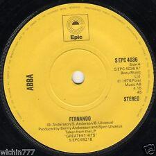 "Abba Fernando b/w Hey Hey Helen 7"" 45rpm vinyl record (good)"
