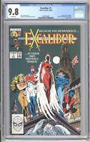 Excalibur 1 - CGC 9.8 NM/Mint Comic 1988 - X-men Captain Britain Kitty Pride