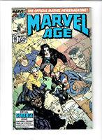 Marvel Comics Marvel Age #66 Sep 1988 Comic.#141078D*9