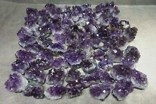 1 Piece Amethyst Druzy 4-6 Oz Dark Purple Geode Crystal Points