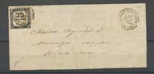 1875 Lettre Taxe 25c obl CAD T 16 Rochefort-Montagne (62) Superbe X5079