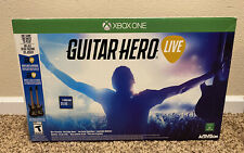 NEW 🔥 Open Box 🔥 Xbox One x2 Guitar Hero Live Guitar Controllers & Game Bundle