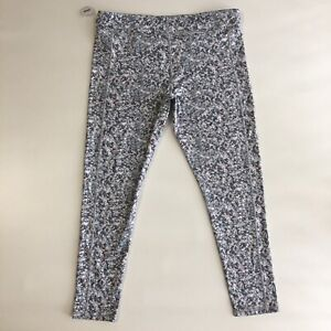 XERSION Fitted High Rise Leggings Yoga Stretch Sz 3XL Floral Pants