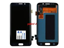 For Samsung Galaxy S6 Edge G925F LCD Display Touch Screen Digitizer Blue+Tools