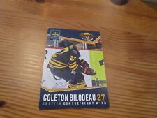 2017-18 VERNON VIPERS COLETON BILODEAU BCHL SINGLE PLAYER CARD