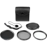 New Digital 58mm Filter Kit UV, Circular Polarizer, ND + Pouch and Lens Cap