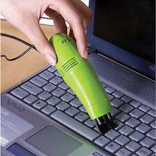 Mini USB Handstaubsauger Tastatur Vakuum Reiniger Bürste Für IT Notebook PC