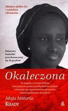 Okaleczona, Khady, polish book, polska ksiazka