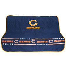 Chicago Bears NFL Pets First Dog Pet Suede Car Seat Cover