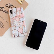 Telefono MARMO Antiurto Custodia in Silicone Anello holderfor iPhone 12Pro 11 xsmax XR 8