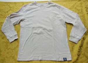 Old Navy Top - Long Sleeve - Crew Neck Beige - Soft - Size X-Large