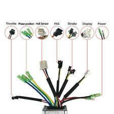 Electric Bicycle Part 6-tube Brushless 36/48V 250W KT-15A Square Wave Controller