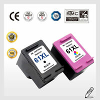 61 XL Black & Color Ink Cartridge Combo For HP 61XL Envy 4500 5530 5534 5535
