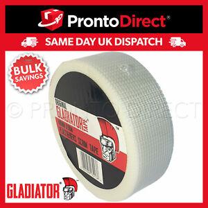 Scrim Tape Plasterers Mesh Plastering Plasterboard Joint Fibre Jointing