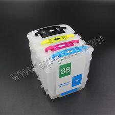 HP88 18 Refillable Cartridges for K8600 K5400 K550 L7400 L7480 L7500 L7550 L7555