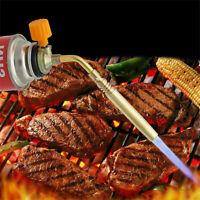 Portable Butane Gas Torch Welding BBQ Flame Gun Outdoor Solder Lighter Burner