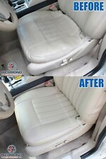 2006 Lincoln Navigator -Driver Side Bottom PERFORATED Leather Seat Cover GRAY