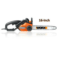 "Worx 14.5 Amp 16"" Electric Chain Saw WG303.1 NEW"