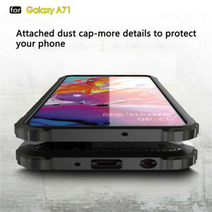 Shockproof Hybrid Armor Back Case Cover For Samsung Galaxy A11 A01 A21 S A31 A51