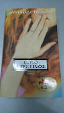 LETTO A TRE PIAZZE, Jennifer Weiner, Piemme Mini Pocket, 2006 tascabile OTTIMO!!