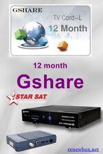Solution renewbox Gshare 12 mois starsat 2000-8800 géant -echolink-pinacle