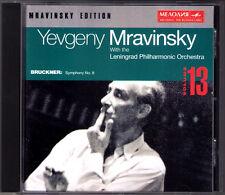 Evgeny Mravinsky: Bruckner Symphony No. 8 Leningrad Philharmonic 1959 CD Symphonie