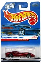 2000 Hot Wheels #70 First Edition Thomassima 3 no tampo 5 spoke