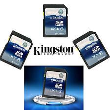 Kingston SD C4/10 4GB 8GB 16GB 32GB 64GB SDHC Memory Card SDXC Genuine f.Camera