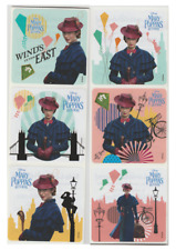 """25 Mary Poppins Returns Stickers, 2.5"""" x 2.5"""" each, Party Favors"""