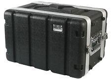 ABS Rack Flightcase - 6U SHALLOW - 19''  Mount Case - flight case ABS-6US