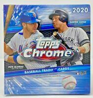 Topps Chrome 2020 Baseball Sealed MEGA Blaster Hanger Box & Value Cello Packs