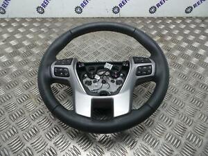 Ford Ranger 2015-2021 Black Leather Multifunctional Steering Wheel