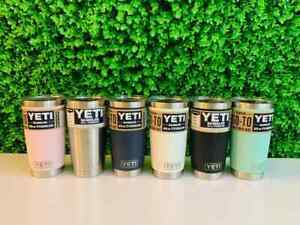 Brand New AUTHENTIC YETI Rambler 20 oz Tumbler with MagSlider Lid ~ Choose Color