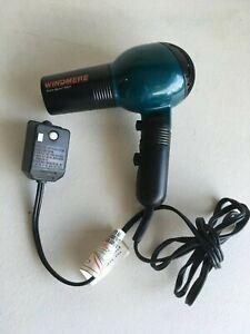 Windermere euro sport 1600 Mini Hair Blow Dryer Foldable Portable 2 speeds