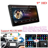 """9"""" HD Android 7.1 Single 1 Din Car GPS Stereo Radio Player Wifi 3G/4G No DVD"""